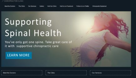 Chiropractic Clinic Websites